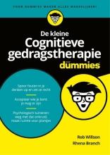 Rob  Willson, Rhena  Branch De kleine cognitieve gedragstherapie voor dummies