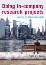Arjan de Bont , Doing in company research projects