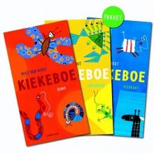 Mies van Hout , Kiekeboe pakket Vierkant, Rond en Driehoek