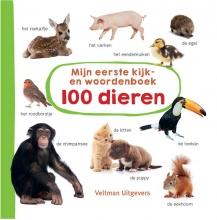 , Mijn eerste kijk-en woordenboek: 100 dieren