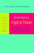 Tijs van den Boomen , Handboek eigen baas