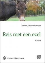 Robert Louis  Stevenson Reis met een ezel - grote letter uitgave