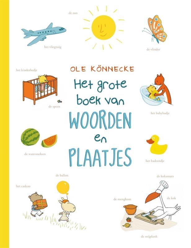 Ole  Könnecke,Het grote boek van woorden en plaatjes
