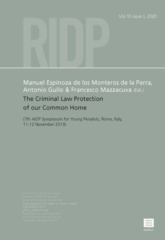 ,The Criminal Law Protection of our Common Home