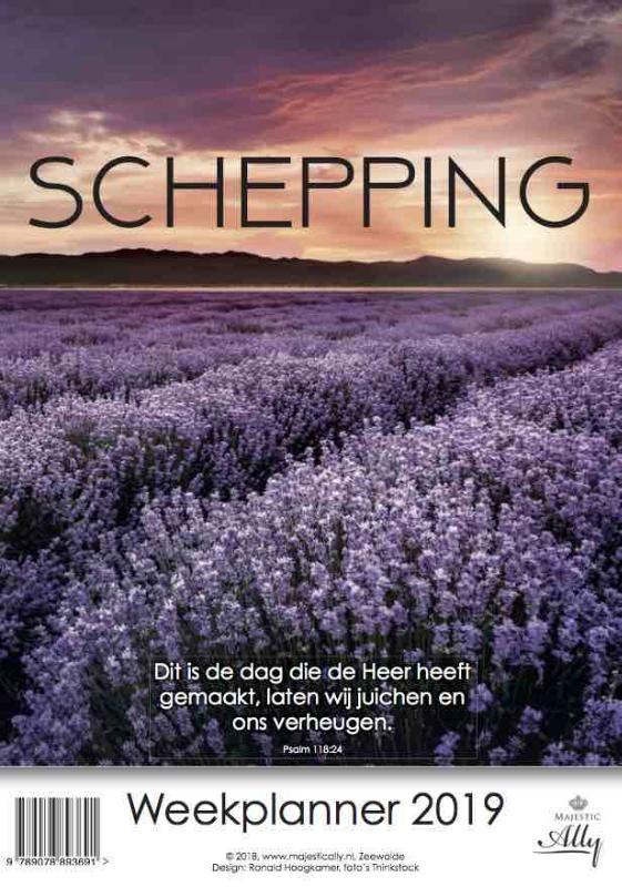 ,Schepping Weekplanner 2019