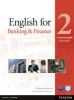 Rosenberg, Marjorie,Vocational English Level 2. English for Banking and Finance. Coursebook (with CD-ROM incl. Class Audio)