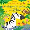 ,Verstoppertje spelen met Zebra