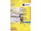 ,<b>Etiket Avery J8160-10 63.5x38.1mm wit 210stuks</b>