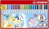 ,<b>Brushstift STABILO 568/25-321 blik à 25 stuks</b>