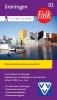 ,Falk/VVV city map & more 01 Groningen 1e druk recente uitgave
