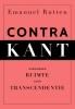 <b>Emanuel  Rutten</b>,Contra Kant