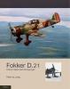 Peter de Jong,Fokker D.21