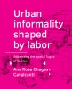 Ana Rosa  Chagas Cavalcanti,Urban �informality shaped by labor