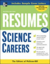 McGraw-Hill Resumes for Science Careers