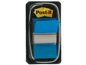 , Indextabs 3M Post-it 680 25.4x43.2mm blauw