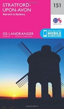 Ordnance Survey Stratford-Upon-Avon, Warwick & Banbury
