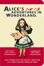 Alice in Wonderland Stitch Pocket Blank Notebook