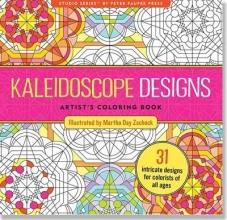 Kaleidoscope Designs Artist`s Adult Coloring Book