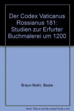 Braun-Niehr, Beate Der Codex Vaticanus Rossianus 181