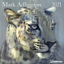 , Kalender 2021 30x30 mark adlington wildlife