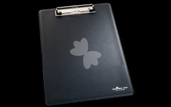 , Klembord Durable 2350 A4 met kopklem zwart