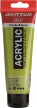 , Talens amsterdam acrylverf tube 120 ml olijfgroen licht 621