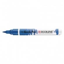 , Brushpen Talens Ecoline 508 pruisischeblauw