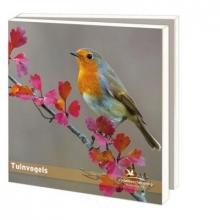 Wmc812 , Notecards pak 10 stuks 15x15 tuinvogels vogelbescherming