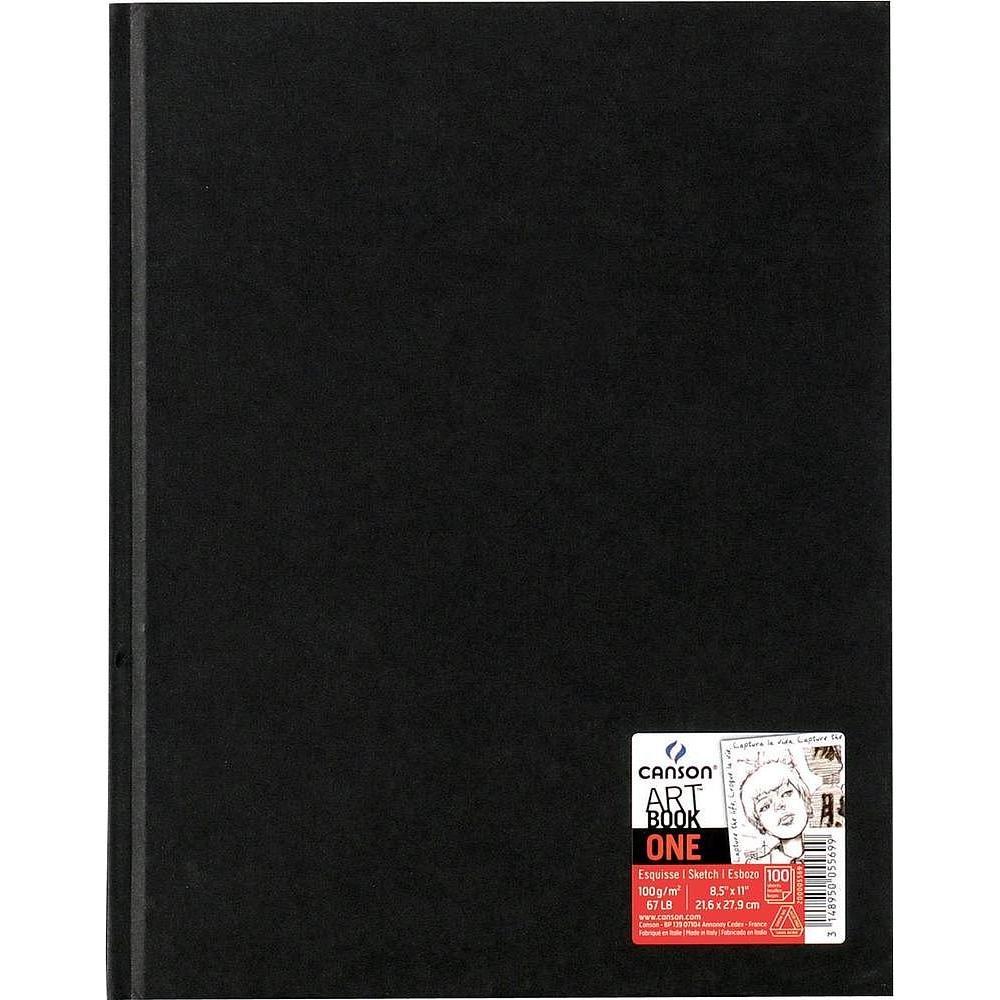 ,Tekenboek Canson Art Dummy 216x279mm 100gr 98vel