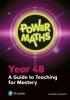 , Power Maths Year 4 Teacher Guide 4B