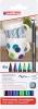 ,<b>Viltstift Brushpen edding 4200 porselein koele kl etui à 6st</b>