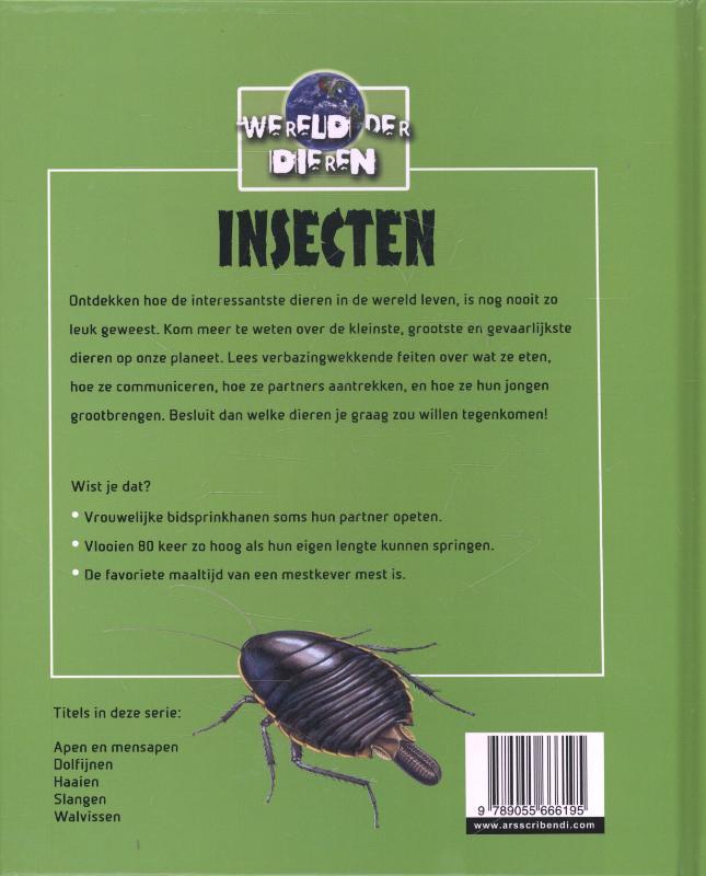 Sarah Eason,Insecten