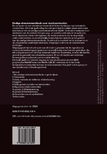 J. Blaauwendraad,Eindige-elementenmethode voor staafconstructies