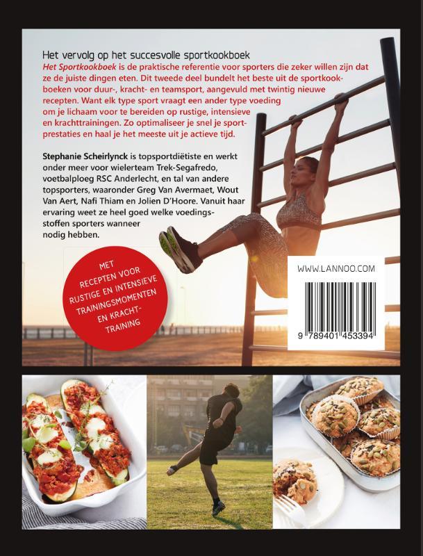 Stephanie Scheirlynck,Het ultieme sportkookboek voor duur-, kracht- en teamsport