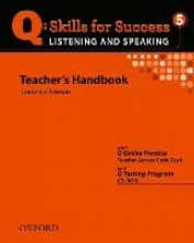 Q Skills for Success 5. Listening and Speaking. Teacher`s Book with Testing Program CD-ROM