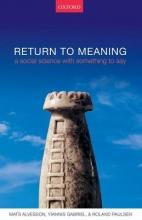 Mats Alvesson,   Yiannis Gabriel,   Roland Paulsen Return to Meaning