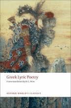 M. L. West Greek Lyric Poetry