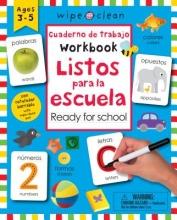 Listos para la escuela Wipe Clean Bilingual Workbook Ready for School
