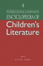 International Companion Encyclopedia of Children`s Literature