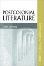 Gunning, Dave Postcolonial Literature
