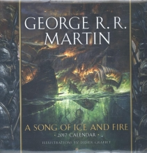 Martin, George R. R. A Song of Ice and Fire 2017 Calendar