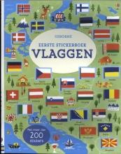 , Eerste stickerboek vlaggen