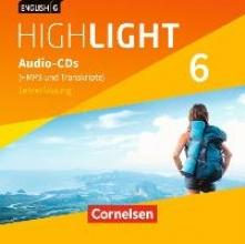 English G Highlight Band 6: 10. Schuljahr - Hauptschule - Audio-CDs (Vollfassung)