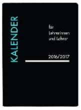 Lehrerkalender PVC schwarz 2017