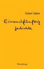 Stübner, Gerhard Einundfnfzig Gedichte