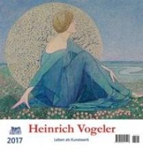 Heinrich Vogeler 2017 Postkartenkalender