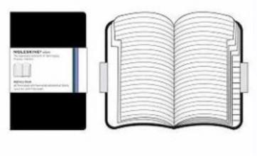 Moleskine Black Volant Adressbook L