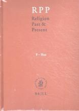 Eberhard Jüngel Hans Dieter Betz  Don Browning  Bernd Janowski, Religion Past and Present, Volume 5 (F-Haz)