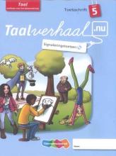 Hetty van den Berg, Tamara van den Berg, Jannie van Driel-Copper, Irene  Engelbertink Taalverhaal.nu 5 ex. Taal 5 Toetsschrift