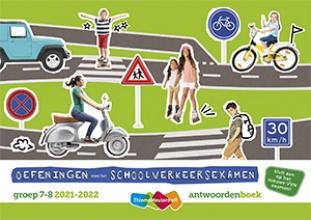 , Schoolverkeersexamen 2021-2022 Antwoordenboekje